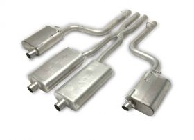 Gibson® Performance 617008 Cat-Back Dual Split Exhaust System Fits 11-14 Charger