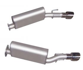 Gibson® Performance 618000 Axle Back Dual Exhaust System Fits 05-06 GTO