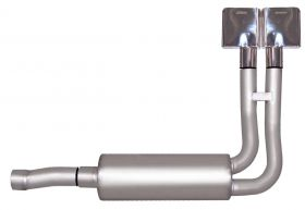 Gibson® Performance 65510 Cat-Back Super Truck Exhaust