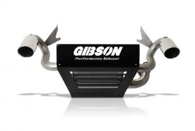 Gibson® Performance 98025 Polaris UTV Dual Exhaust Fits 16-18 RZR XP Turbo EPS